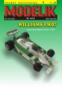 MODELIK 14/12 WILLIAMS FW 07